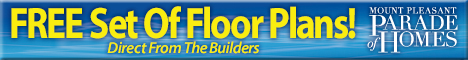 Free set of floor plans from Mount Pleasant Builders